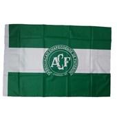 Bandeira Chapecoense 2 Panos Bordada Oficial 1,28 x 0,90 Mitraud