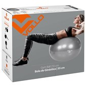 Bola de Pilates Vollo 55 cm Gym Ball VP1034 - 1,55 a 1,69 m