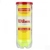 Bola de Tenis Wilson Championship Extra Duty Tubo 3 Bolas