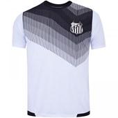 Camisa Santos Braziline Contact Dry Fit Masculina