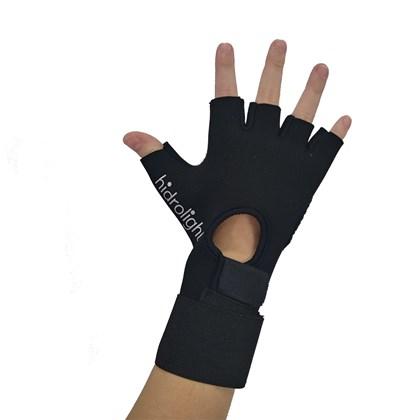 Luva Musculação Hidrolight Ultra Grip H29 Com Munhequeira