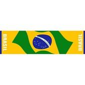 Toalha Brasil Esportiva Faixa Oficial Buettner 0,30 x 1,10 m Cor Sortida